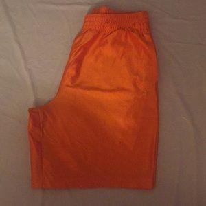 Athletech Orange Shorts